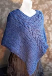 Free Knit Poncho Knitting Pattern