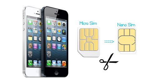 iphone    convert micro sim card  nano sim card