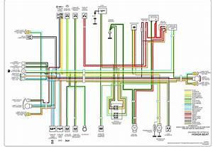 Rangkaian Kabel Lampu Motor