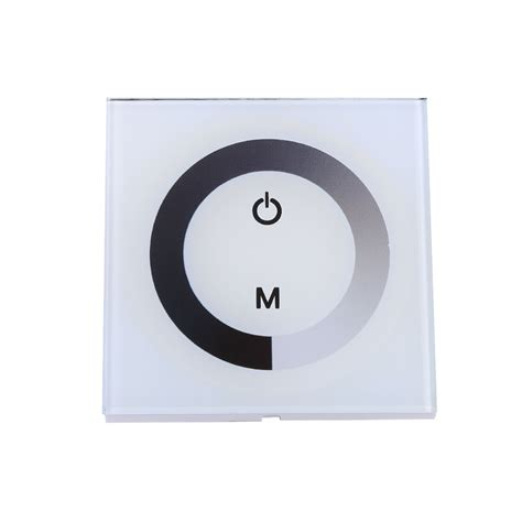touch sensitive wall light sensitive single color touch panel dimmer wall switch