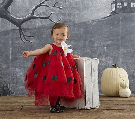 pottery barn costumes baby ladybug tutu costume pottery barn