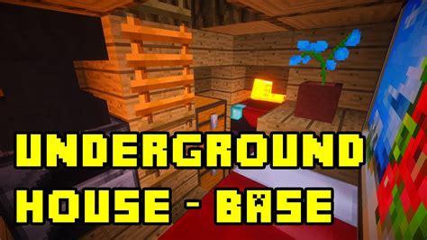minecraft simple underground basehouse tutorial  xbox