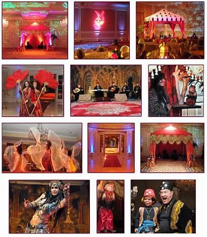 Arabian Event Nights Hotel Night Decorating Party