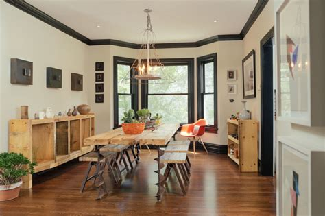 table salle a manger casa birmingham house industrial dining room detroit by