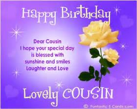 saying happy bday cousin free family birthday cards e birthday messages for relatives