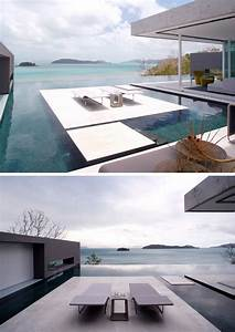 6, Swimming, Pool, Designs, That, Have, Island, Platforms, Within, Them