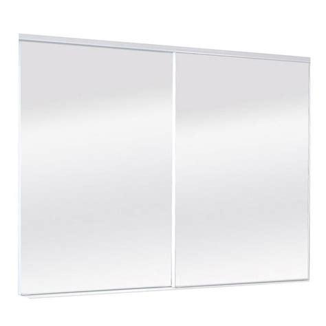 shop reliabilt mirror panel sliding closet interior door