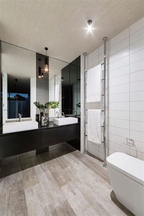 bathroom tile design ideas pictures bathroom mirror ideas fill the whole wall contemporist