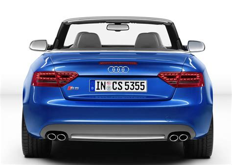 rear view audi s5 cabriolet rear view car pictures images