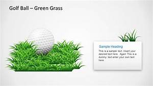 Golf Ball Shapes For Powerpoint