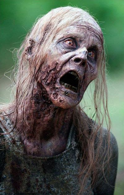 scary halloween zombie face makeup  ideas  modern fashion blog