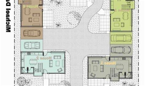 perfect images center courtyard house plans house plans