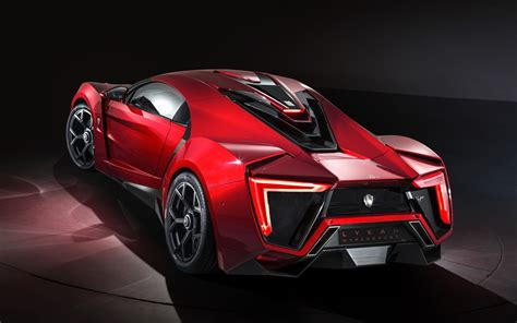 Lykan Hypercar : Wallpaper Lykan Hypersport, Rear View, Supercar, 4k