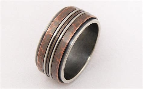 Silver Copper Ring,men Engagement Ring