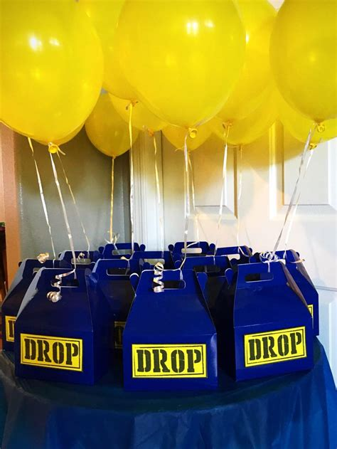 fortnite birthday party favors drop boxes boy birthday
