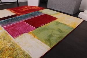 Teppich Bunt Modern : teppich modern splash designer teppich bunt karo model neu ovp kinder teppiche ~ Frokenaadalensverden.com Haus und Dekorationen