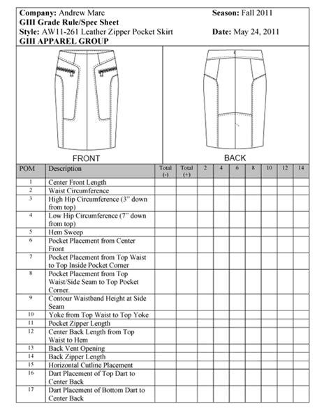 spec  leather skirt