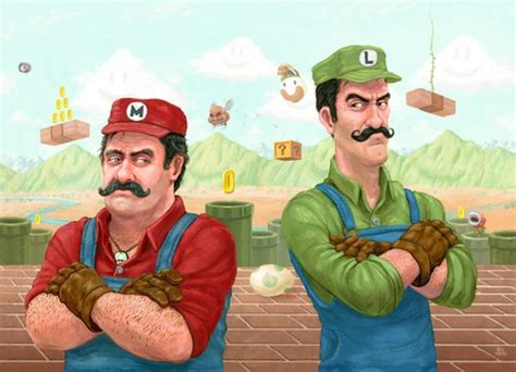 geeksngamers: Super Mario Brothers - Created ...