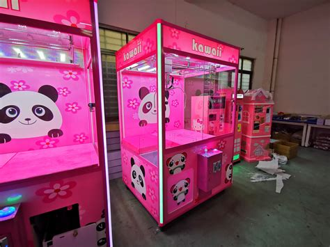 kawaii claw crane game machine yuto games