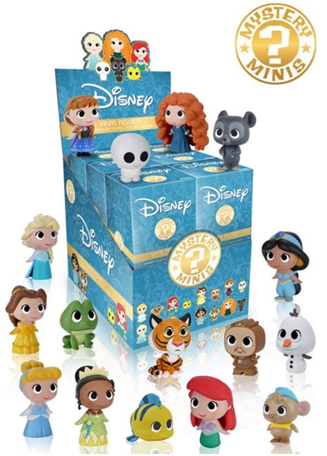 funko disney princesses mystery minis checklist rarity list odds boxes
