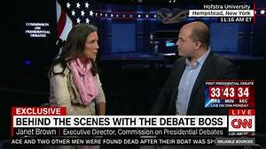 Debate commission chief: Candidates should fact-check each ...