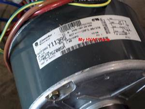 1172508 Tempstar 1  5 H P  Heat Pump Condenser Fan Motor