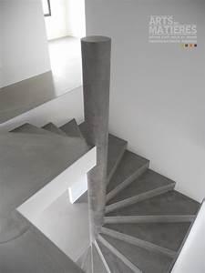 Habiller Un Escalier En Béton Brut : habiller escalier beton habiller un mur exterieur en bois 3 escalier beton sur pinterest ~ Nature-et-papiers.com Idées de Décoration