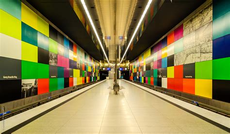 metro stations  munich  artistic statement