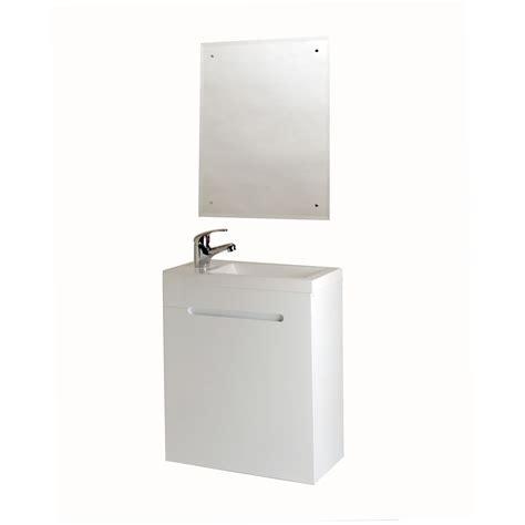 Meuble Lavemains Blanc  Lavemains  Wc & Accessoires