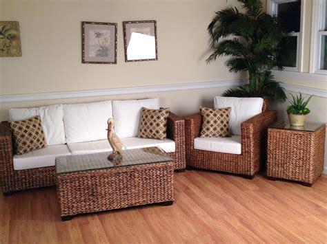wicker sunroom furniture los cabos seagrass sunroom