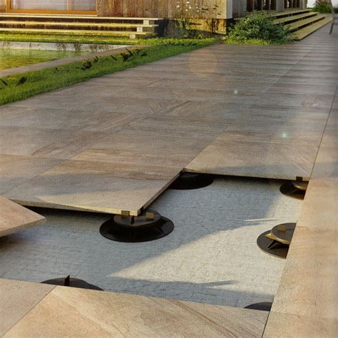 Keramogranīta flīze (Kyara dark) 60 x 60 x 2 cm - Terasei
