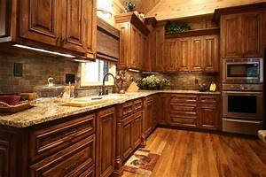 Rustic Cabin Style - Traditional - Kitchen - charlotte
