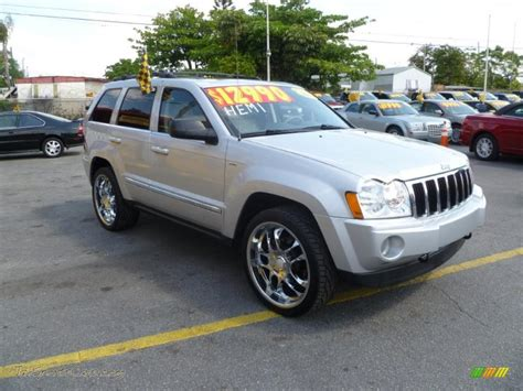 cherokee jeep 2005 2005 jeep grand cherokee limited 4x4 in bright silver