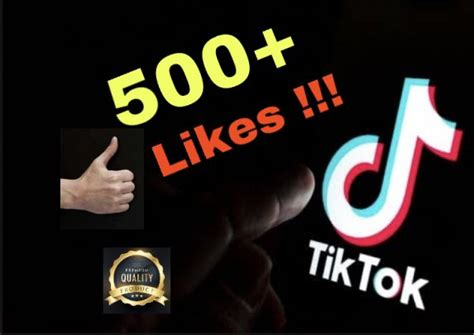 I will add 500+ Tiktok Likes !! Instant & Non Drop !!! | Zeerk