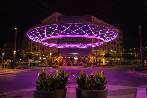 fort worth lighting crockett circle iconic ring at west 7th led upgrade