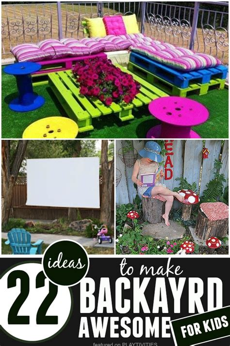 Backyard For Children by Diy Backyard Ideas For 22 Easy And Cheap Ideas