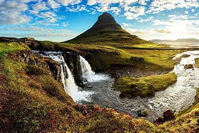 Island Landschaft Wetter