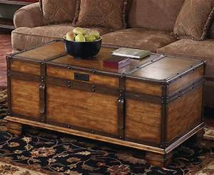 variants of trunk end table homesfeed With trunk coffee table and end tables