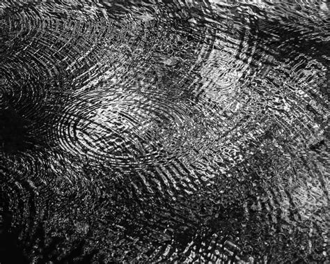 Abstract Black And White Photography Nature by River Ripples Black And White Abstract Photograph