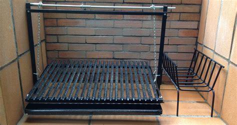 grille de barbecue kits de grilles sur mesure pour barbecue argentin 224 manivelle