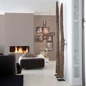 couleur peindre mur marie claire maison With couleur chaleureuse pour salon