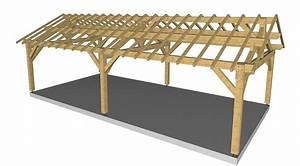 Charpente Traditionnelle Bois En Kit : construction bois ~ Premium-room.com Idées de Décoration
