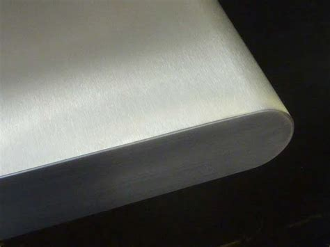 stainless steel   bullnosed edged worktops sector