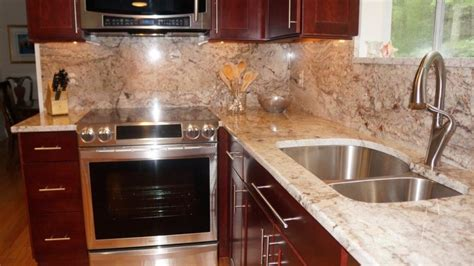 pictures of backsplashes for kitchens exeter ri kitchen countertop center of
