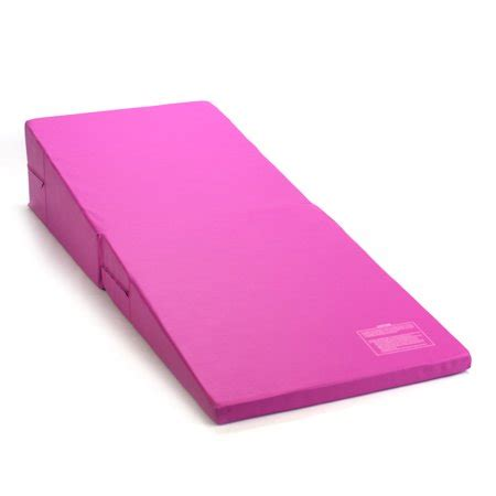 gymnastic mats for pink folding incline gymnastics mat foam triangle