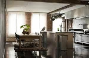 industrial home kitchen design ideas para decorar una cocina de un loft 4663