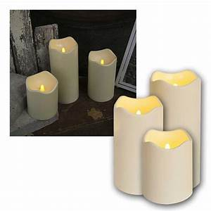 Led Kerzen Außen : led kerzen f r au en 10cm d mmerungssensor 3 gr en ~ A.2002-acura-tl-radio.info Haus und Dekorationen