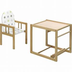 Chaise Haute 2 En 1 : chaise haute b b nico naturelle 2 en 1 assise toiles de geuther sur allob b ~ Louise-bijoux.com Idées de Décoration