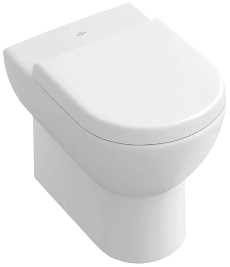 villeroy boch subway floor standing toilet with inwall