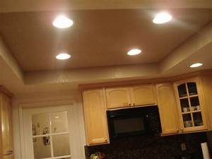 Installing recessed lighting in a kitchen : Recessed lighting diy correct